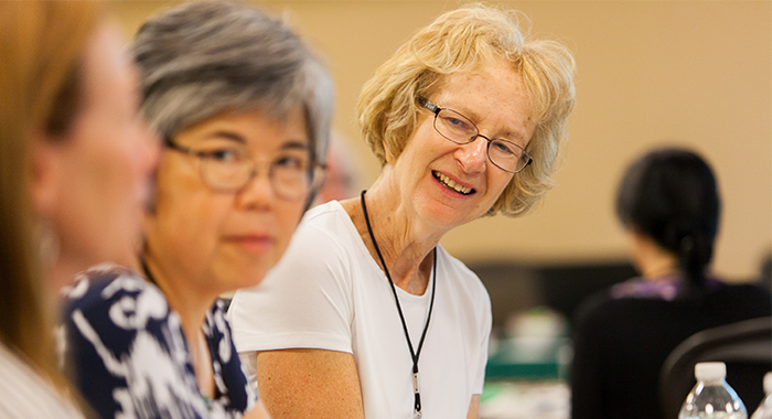 """As part of the overall Women and PD Initiative, the Parkinson's Foundation is leading the first national effort to address long-standing gender disparities in Parkinson's research and care through the """"Women and PD Teams to Advance Learning and Knowledge,"""" or """"Women and PD TALK"""" project."""