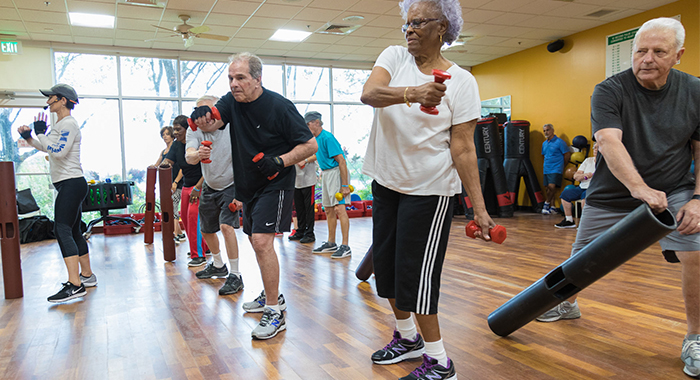 Exercise is an important part of healthy living for everyone.