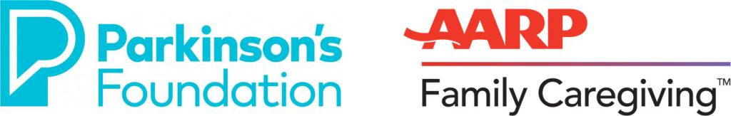 Parkinson's Foundation and AARP Logo
